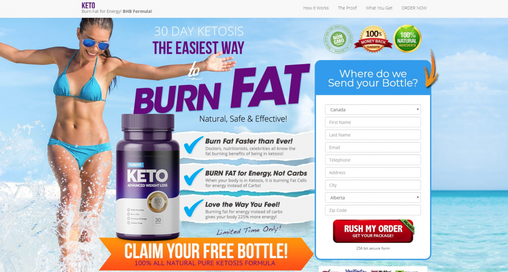 purefit keto official