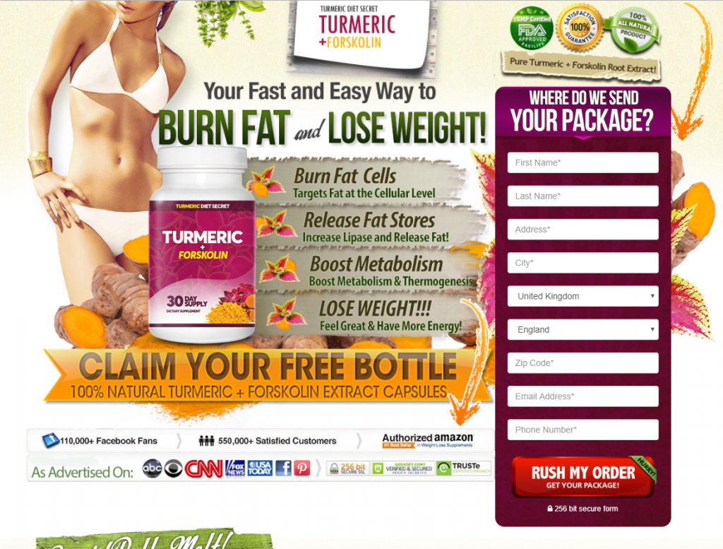turmeric forskolin official website